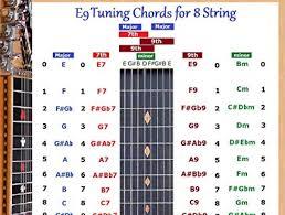 Amazon Com E9 Tuning 8 String Lap Steel Dobro Guitar Chords