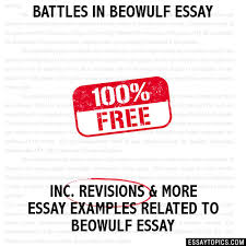 in beowulf essay battles in beowulf essay
