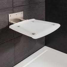 wall mounted folding shower seat add