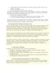 ethical leadership paradigm toys paper  ethical violations 7  outline