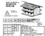 martin house plans. Purple Martin House Plans U
