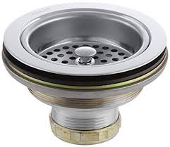 kohler sink strainer basket. KOHLER Duostrainer Sink Strainer Polished Chrome Intended Kohler Basket