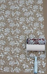 Pattern Roller Cool Sea Rose Patterned Paint Roller And Applicator Set NotWallpaper