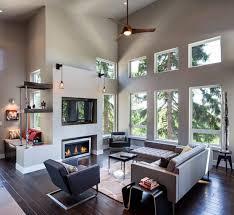 grey walls with wood floors
