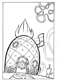 Small Picture spongebobs house coloring pages Printable Coloring Pages Gallery