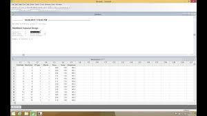 3 Level Fractional Factorial Design Minitab Minitab 17 0 Stat Doe Factorial Create Factorial Design