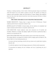 effectiveness of training 2