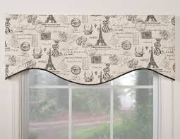 Window Valance Patterns New Curtain Window Valances Patterns Modern Midtown Shaped Valance By 48