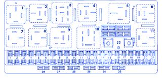 audi 4000s 1986 engine main fuse box block circuit breaker diagram audi 4000s 1986 engine main fuse box block circuit breaker diagram