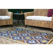 lovely royal blue outdoor rug fab habitat lhasa royal blue chocolate brown outdoor rug