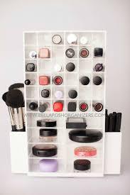 BellaPosh Organizers - Spinning Makeup Tower (WHITE)