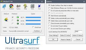 UltraSurf screenshot 1