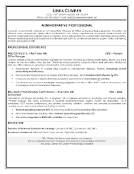 administrative assistant resume sample writing professional linda gallery of resume format for back office executive