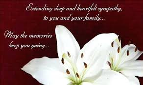 Gallery Of Sympathy Messages For Loss Husband Wordings And Advanced ...