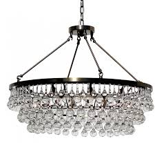 celeste glass drop crystal chandelier