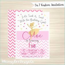 Kids Birthday Invitation Card Free Birthday Party Invitation