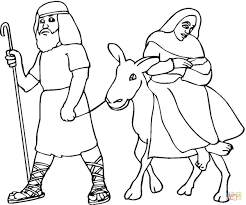 Jesus Nativity coloring pages | Free Coloring Pages