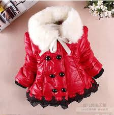 hot 2017 winter newborn infant baby girls clothing pu leather cotton jacket coat fashion child kids fur collar outerwear for baby boys padded jackets