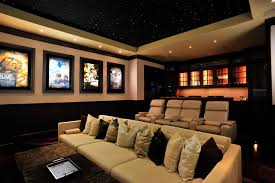 Luxor Theater contemporary-home-theater