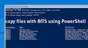 How To Copy Files With Bits Using Powershell Theitbros