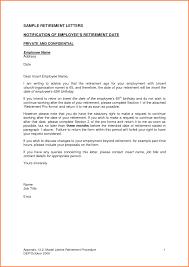6 Resignation Retirement Letter Samples Resign Letter Job