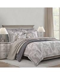 gray paisley bedding. Simple Bedding Bridge Street Estate Vintage Paisley Fullqueen Comforter Set In Grey Gray Bedding