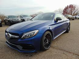 New 2018 Mercedes-Benz C-Class AMG® C 63 S Coupe Coupe in Akron ...