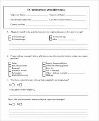 Employee Clearance Form Fascinating 44 Sample Employee Exit Forms Sample Templates