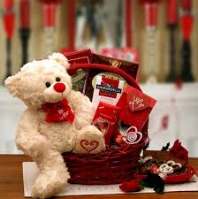 home holiday gift baskets valentines day gift baskets be mine valentines day teddy bear gift basket