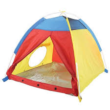 Picture of My First Fun Dome Tent - Blue / Red / Yellow