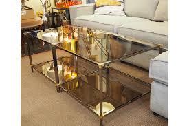 black chrome metal gold glass side tables rizzo rega baughmann italian style vinterior