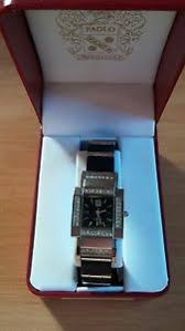 paolo gucci watch paolo gucci nib matte black square face jeweled bezel ladies watch bracelet