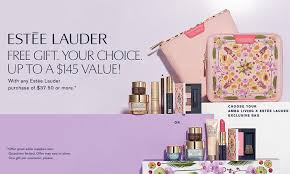 get a free seven piece estee lauder gift set at dillard s with purchase get it free