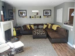Grey And Brown Living Room Pinterest