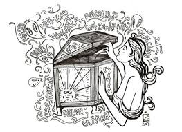 greek mythology pandora box clip art library greek