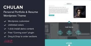 Awesome Wordpress Resume Themes For Job Hunting