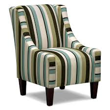 Furniture Home Living Room Accent Arm Chairs In Brown Fabric