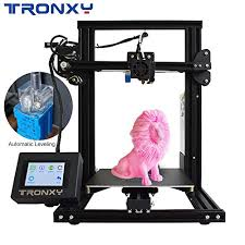 <b>TRONXY</b> XY-2 <b>3D</b> Printer Semi-Assembled with <b>Automatic Leveling</b> ...