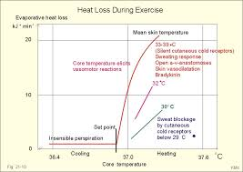 evaporative heat loss