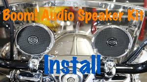 how to install harley davidson boom audio cruiser amp speaker how to install harley davidson boom audio cruiser amp speaker kit complete tutorial