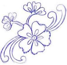 Small Picture simple flower sketches Google Search Drawings and Sketches