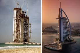 Dubai Before And After Incredible Before And After Shots Of Dubai Insydo