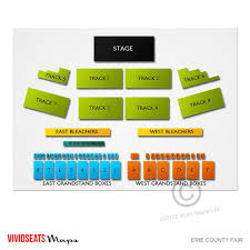 Gusto Grandstand Seating Chart Erie County Fair Grandstand Related Keywords Suggestions