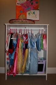 dress up closet ikea bookshelf and tension rod closet for dress up clothes im little black