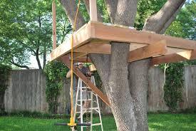 plain ideas kids tree house plans tree house plans tree fort building plans tree house deck