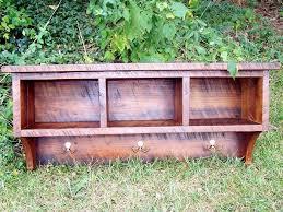 Entryway Coat Rack Shelf Classy Buy A Handmade Reclaimed Barnwood Coat Rack Cubby Shelf For Entryway