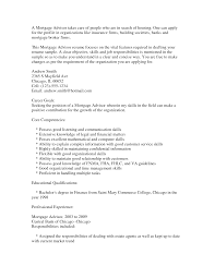 Ideas Of Cover Letter Mortgage Underwriter Position In Mortgage