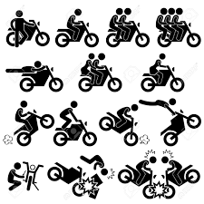 Bike accident drawing clipartxtras