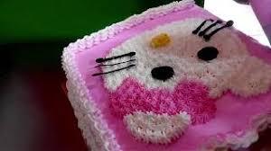 Hello Kitty Cara Membuat Kue Karakter Hello Kitty Simpel скачать