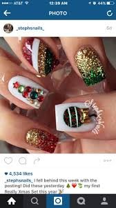 7 best Nails-Christmas images on Pinterest